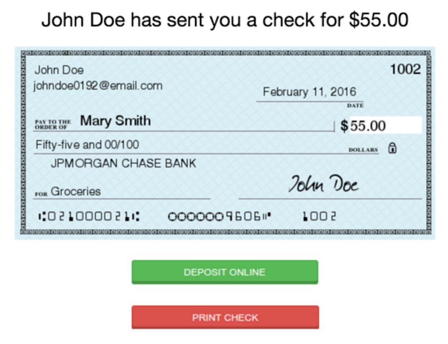 how do you fill out a bank of america check