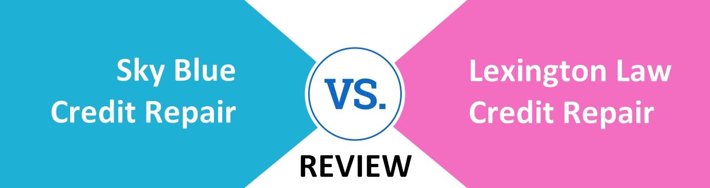 sky blue credit repair vs lexington law credit repair