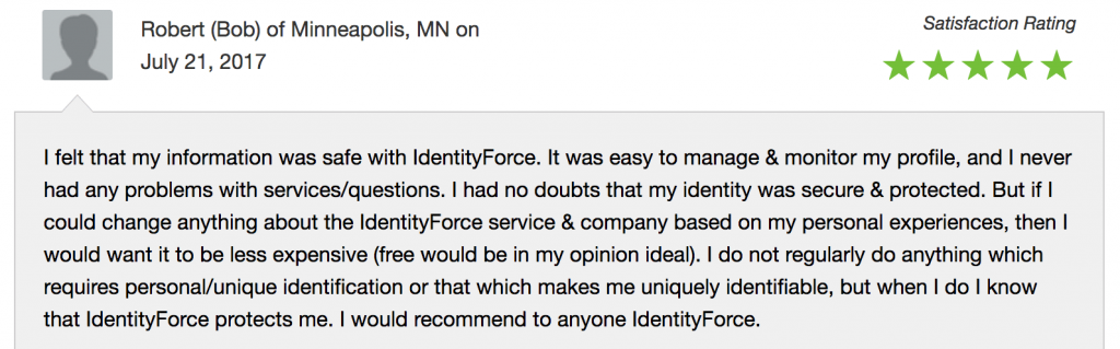 identity force reviews