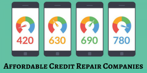 affordable credit repair companies
